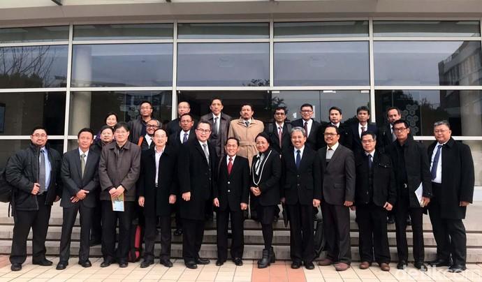 PLN Boyong Rektor Kampus Top RI ke China