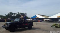 Kapolri Pimpin Upacara HUT Polairud di Pondok Cabe