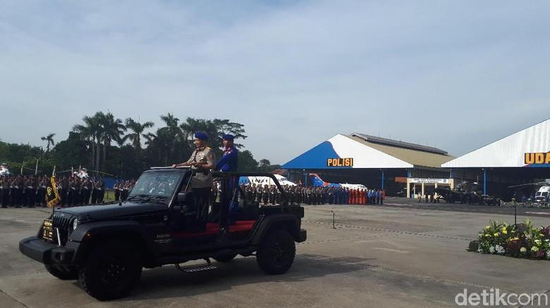 Kapolri Minta Polairud Ikut Fokus - Jakarta Kapolri Jenderal Tito Karnavian menjadi inspektur upacara dalam peringatan HUT Polairud di Pondok Tangerang Dalam Tito meminta