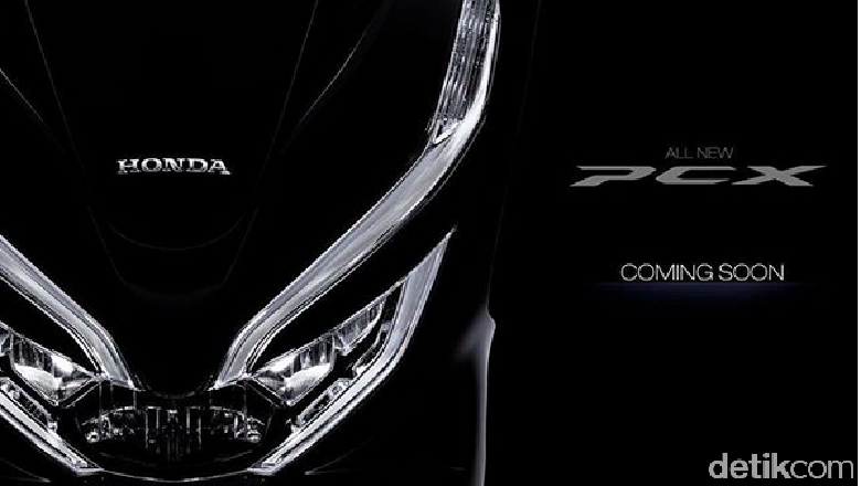 Honda PCX Terbaru Dikenalkan Pekan Depan