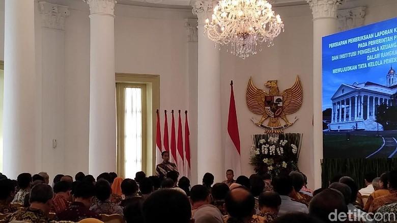 Jokowi: Opini Wajar Tanpa Pengecualian dari BPK Bukan Prestasi