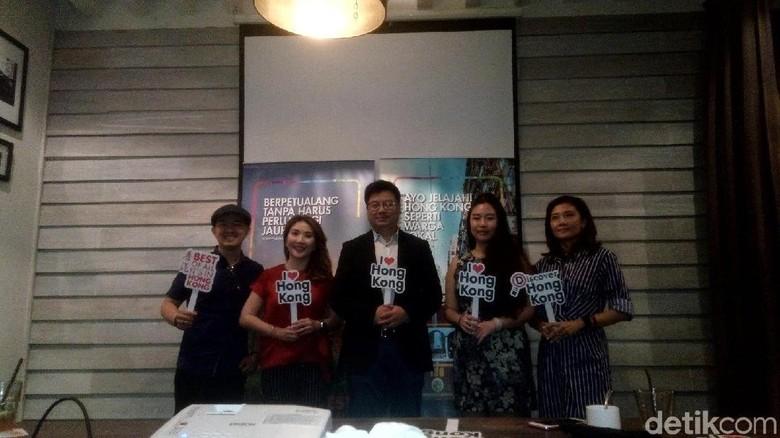 Foto: Jumpa pers Hong Kong Tourism Board di Jakarta (Syanti/detikTravel)