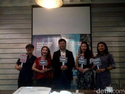 Hong Kong Bidik Traveler Milenial Indonesia