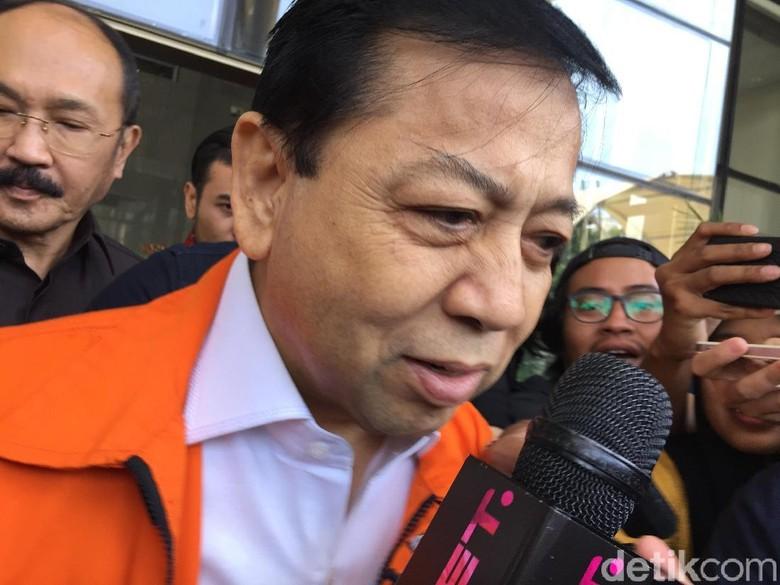 Sidang Praperadilan Setya Novanto Digelar di PN Jaksel Hari ini