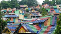 Tips Ajak Mama Liburan ke Kampung Pelangi Semarang di Hari Ibu