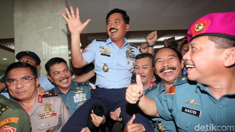 Jokowi Tunggu DPR untuk Lantik Marsekal Hadi Jadi Panglima TNI
