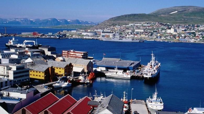 Kota Hammerfest, Norwegia (Dok. BBC Travel)