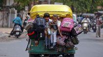 Di India, Salah Satu Penyumbang Kecelakaan Adalah Bajaj