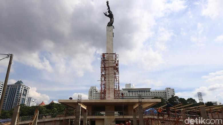 Revitalisasi Lapangan Banteng Masuki Kawasan Monumen
