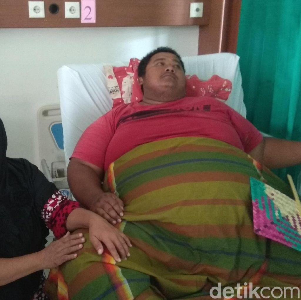 Yudhi Hermanto, Pria 310 Kilogram Asal Karawang Meninggal