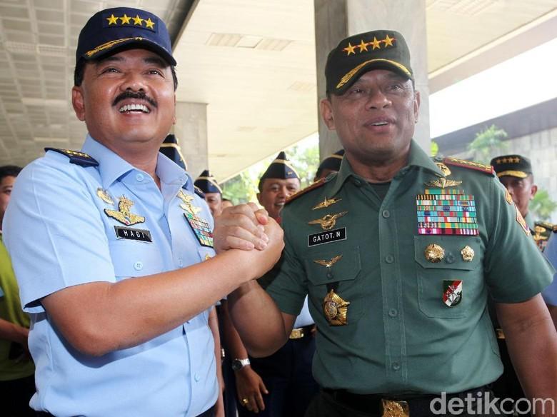 Jenderal Gatot: Marsekal Hadi Dapat Pimpin TNI Lebih Profesional