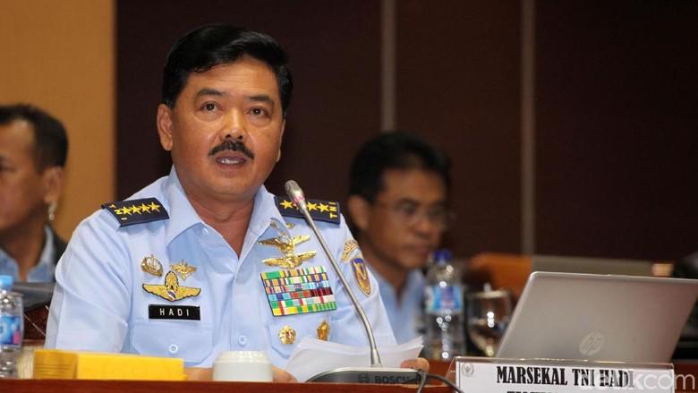 Komisi I Beberkan Janji-janji Marsekal Hadi Saat Fit and Proper Test