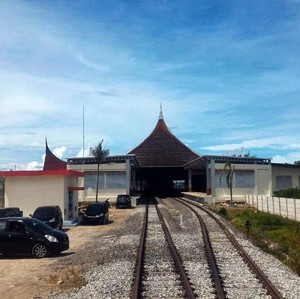 Kereta Bandara Minangkabau Diuji Coba Februari 2018