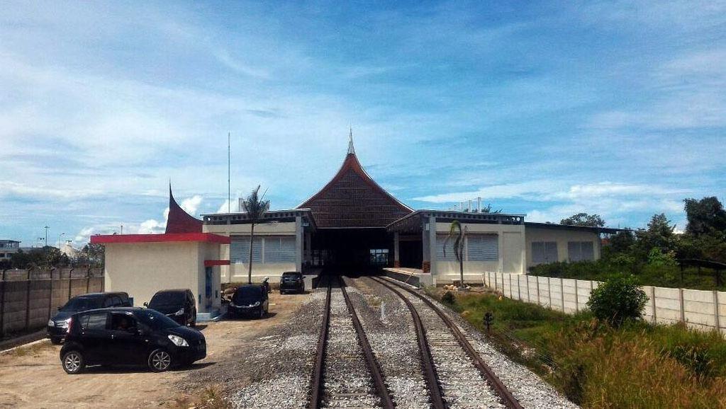 Siap Operasi, Ini Jalur Kereta Bandara Internasional Minangkabau