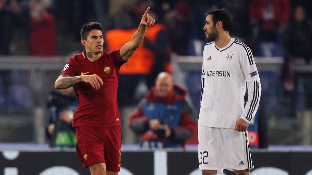 Atasi Qarabag, Roma Salip Chelsea untuk Jadi Juara Grup