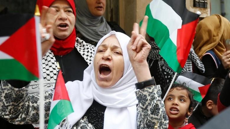 Palestina Mulai Bergejolak Jelang Pengumuman Trump soal Yerusalem