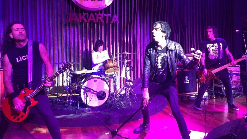 Hey, Ho, Lets Go! Marky Ramone Berisik di Jakarta