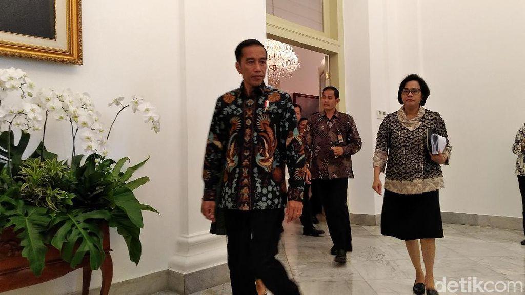 Jokowi Ingatkan Para Menteri Soal Efisiensi Anggaran
