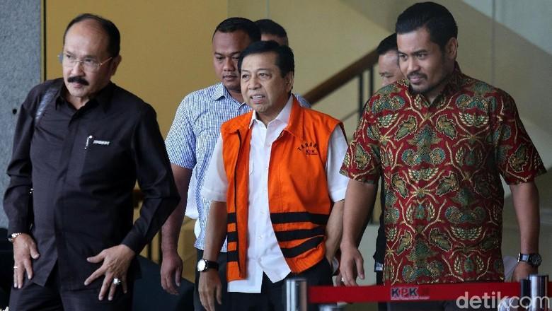 Pengacara: Penetapan Tersangka Novanto Tak Sah, Cuma Pengulangan