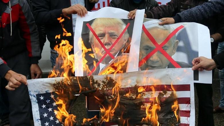 Trump Akui Yerusalem Ibu Kota Israel, PPP Minta RI Boikot Produk AS