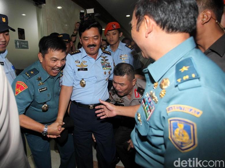 Paripurna DPR Setujui Marsekal Hadi Jadi Panglima TNI