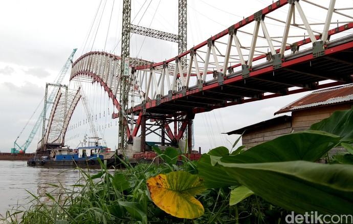 Selesai 94%, Jembatan Musi VI Beroperasi Sebelum Asian Games 2018