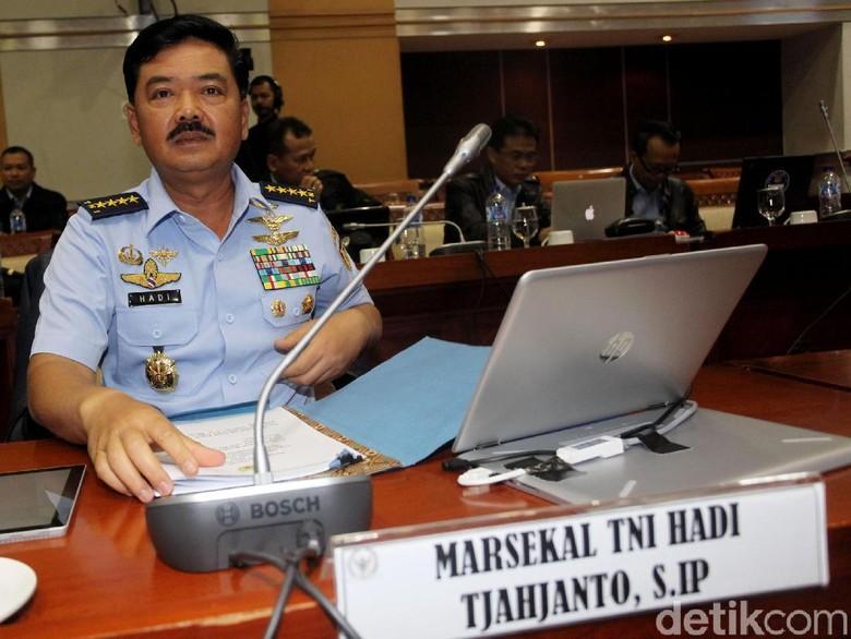 Ini Janji Marsekal Hadi Saat Menjabat Panglima TNI