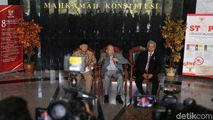 Dewan Etik Hakim Konstitusi Bicara Pencalonan Hakim Arief Hidayat