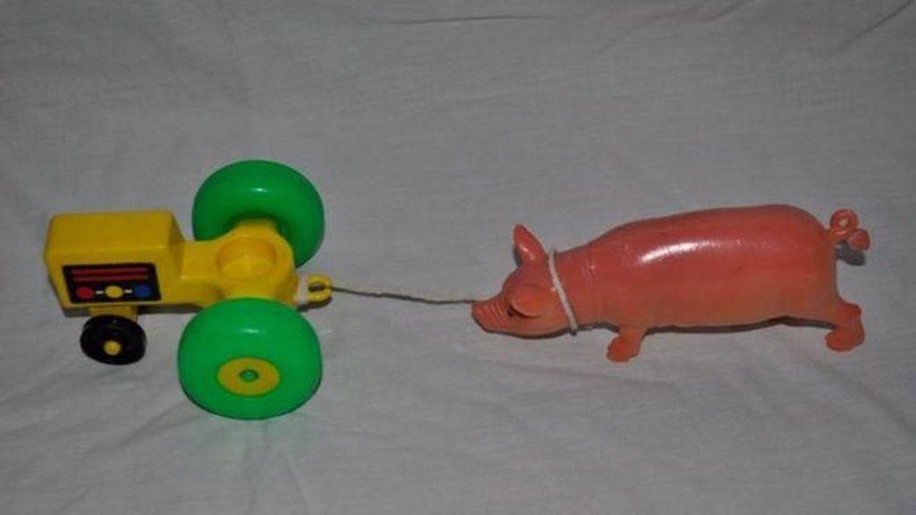 Sindir Turner Prize, Mainan Traktor Ini Dapat Penghargaan Seni