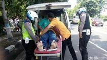 Jalur Poros Surabaya-Lamongan Berlubang, Ini yang Dilakukan Polisi