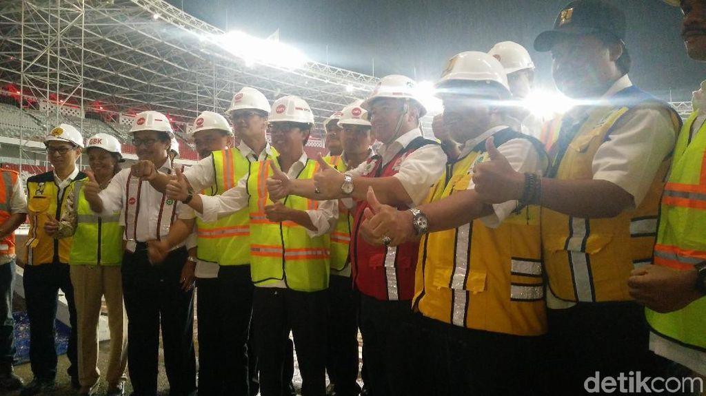 Kajati DKI Pastikan Renovasi Stadion GBK Rampung 30 Desember