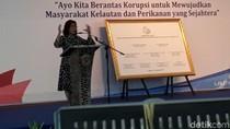 Nada Tinggi Susi di Hari Anti-Korupsi