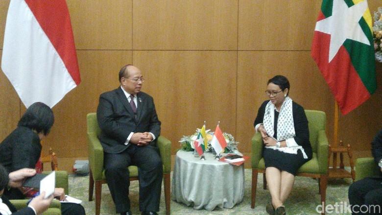 Myanmar Terima Kasih ke Indonesia atas Bantuan di Krisis Rohingya