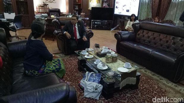 Mu Sochua menemui Fadli untuk mengadu soal kondisi politik di Kamboja