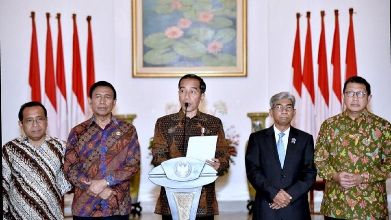 Ekspresi Jokowi Saat Kecam Keras Sikap Trump Soal Yerusalem