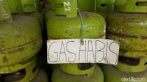 Warga Majalaya Kabupaten Bandung Kesulitan Beli Gas Elpiji 3 Kg