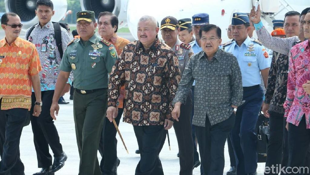 Wapres JK Tinjau Venue Asian Games di Palembang