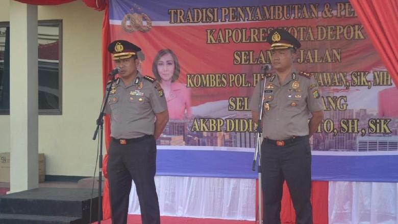 Jabat Kapolresta AKBP Didik Siap - Jakarta AKBP Didik Sugiarto telah resmi menduduki jabatan Kapolresta Mantan Wakil Direktur Reserse Kriminal Umum Polda Metro Jaya