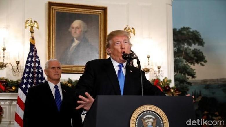 Trump Segera Kirim Mike Pence - Washington DC Presiden Amerika Serikat Donald Trump mengakui secara resmi Yerusalem sebagai Ibu Kota Wakil Presiden AS Mike