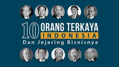 10 Orang Terkaya Indonesia dan Jejaring Bisnisnya