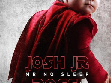 Josh yang suka begadang, dijuluki Mr No Sleep di posternya.