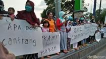 Kunker di Rembang, Menteri Susi Disambut Deretan Poster Pro Cantrang