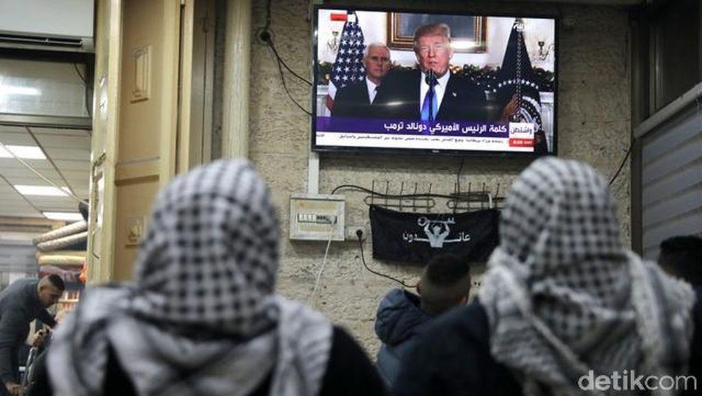 Kebijakan Trump Soal Pengakuan Yerusalem Tuai Kecaman Dunia