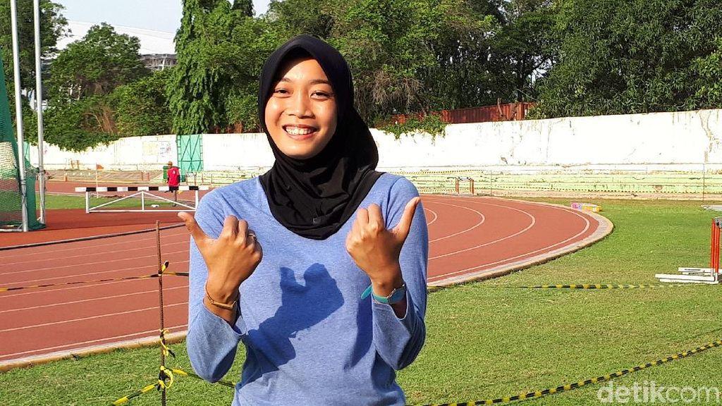 Atlet Berhijab Ini Berharap Emas Kejurnas Jadi Modal Masuk Skuat Asian Games