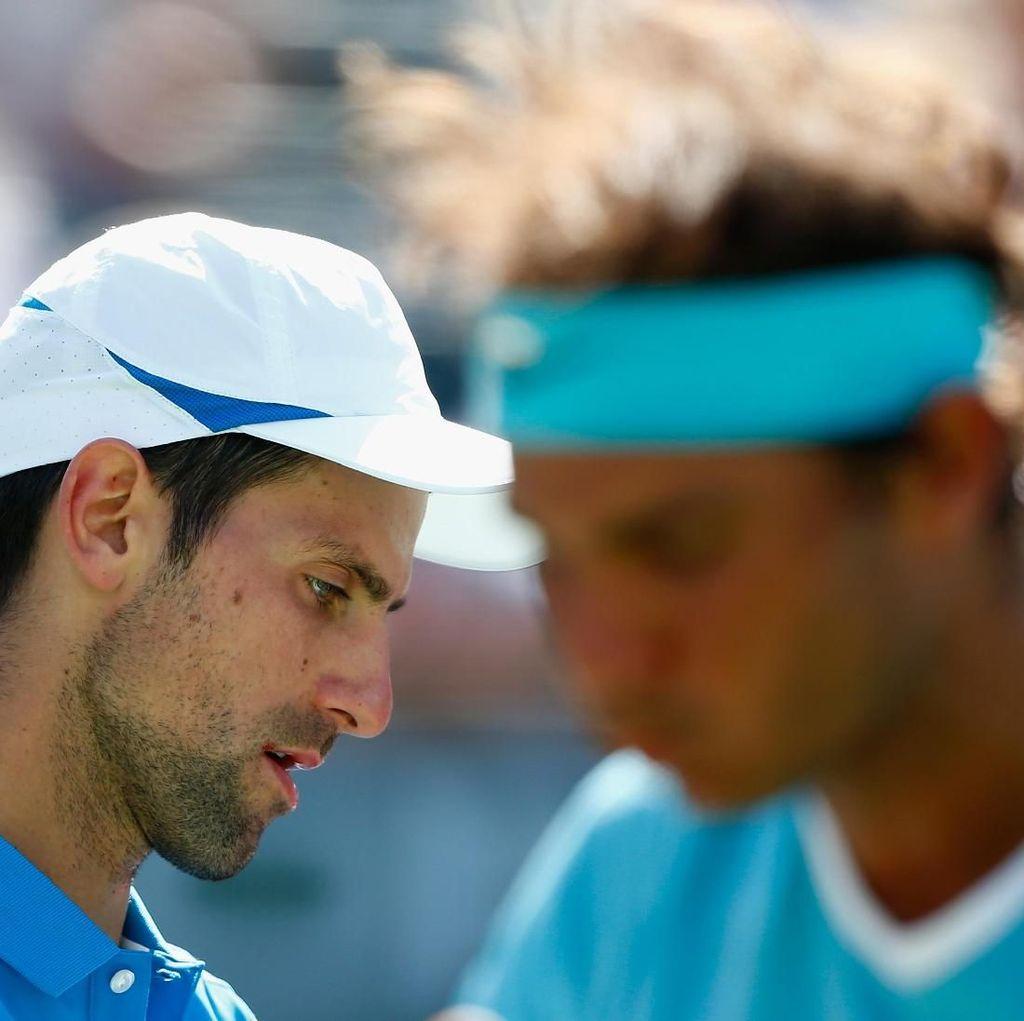 Nadal: Djokovic Mencapai Level yang Lebih Tinggi daripada Federer