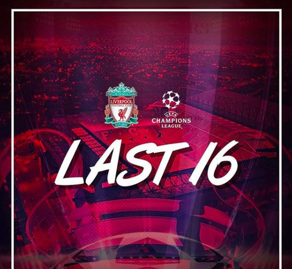Menggunduli Sparkatk Moscow 7-0, Liverpool akhirnya lolos ke babak 16 besar Liga Champion setelah absen sejak 2009. Foto: istimewa