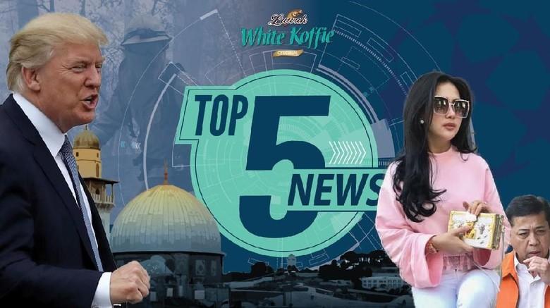 Kecaman untuk Trump soal Yerusalem, Intip Isi Tas Hermes Syahrini