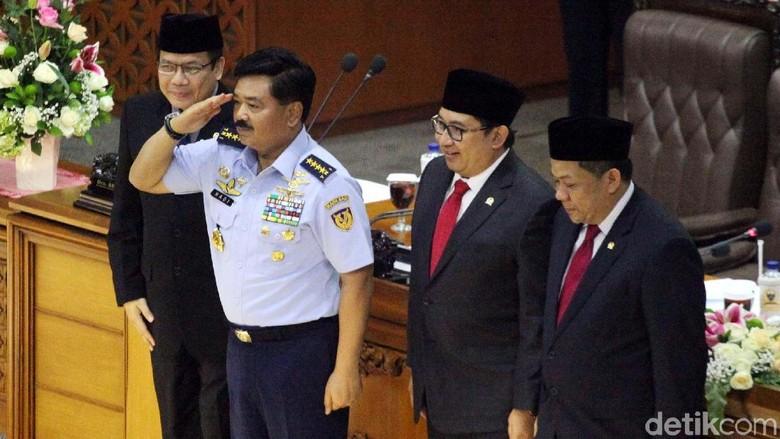 Tok! DPR Setujui Marsekal Hadi Jadi Panglima TNI