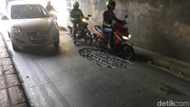 Awas! Ada Lubang di Terowongan Manggarai, Lalin Macet