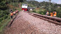 Jalur Ambles di Garut Sudah Dapat Dilintasi Kereta